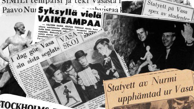 Det legendariska teknologsprattet: då Paavo Nurmi sprang på Vasaskeppets däck