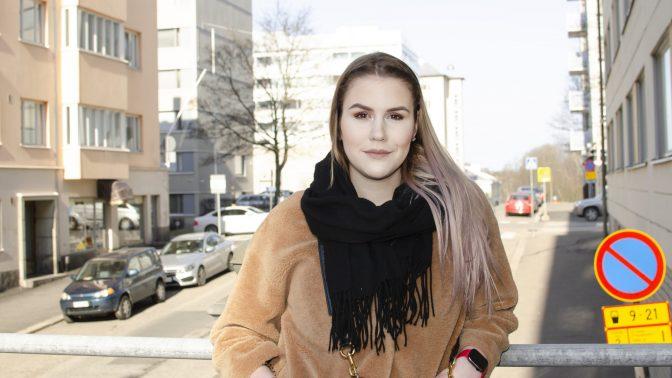 Darya flyttade ensam till Finland som 16-åring – nu kan hon fem språk och är ordförande för ASK