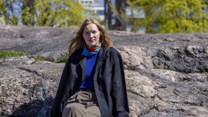 Mathilda Larsson är årets Arvid Mörne-vinnare