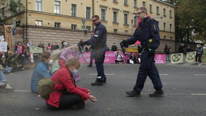"""""""Att blockera gator är berättigat, till och med en skyldighet"""""""