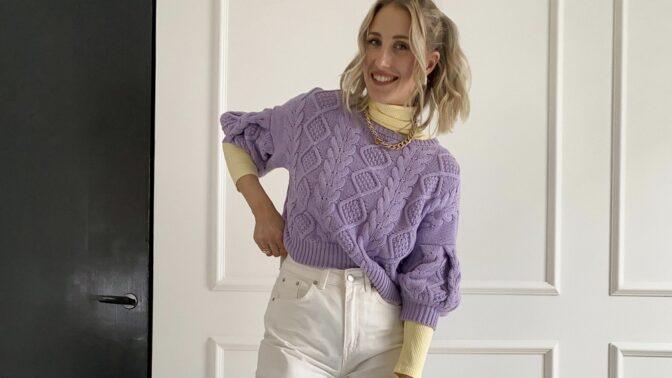 Influencern och stylisten Sandra Holmäng hjälper dig att hitta rätt i second-hand världen