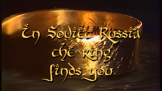 Hraniteli – in Soviet Russia the ring finds you