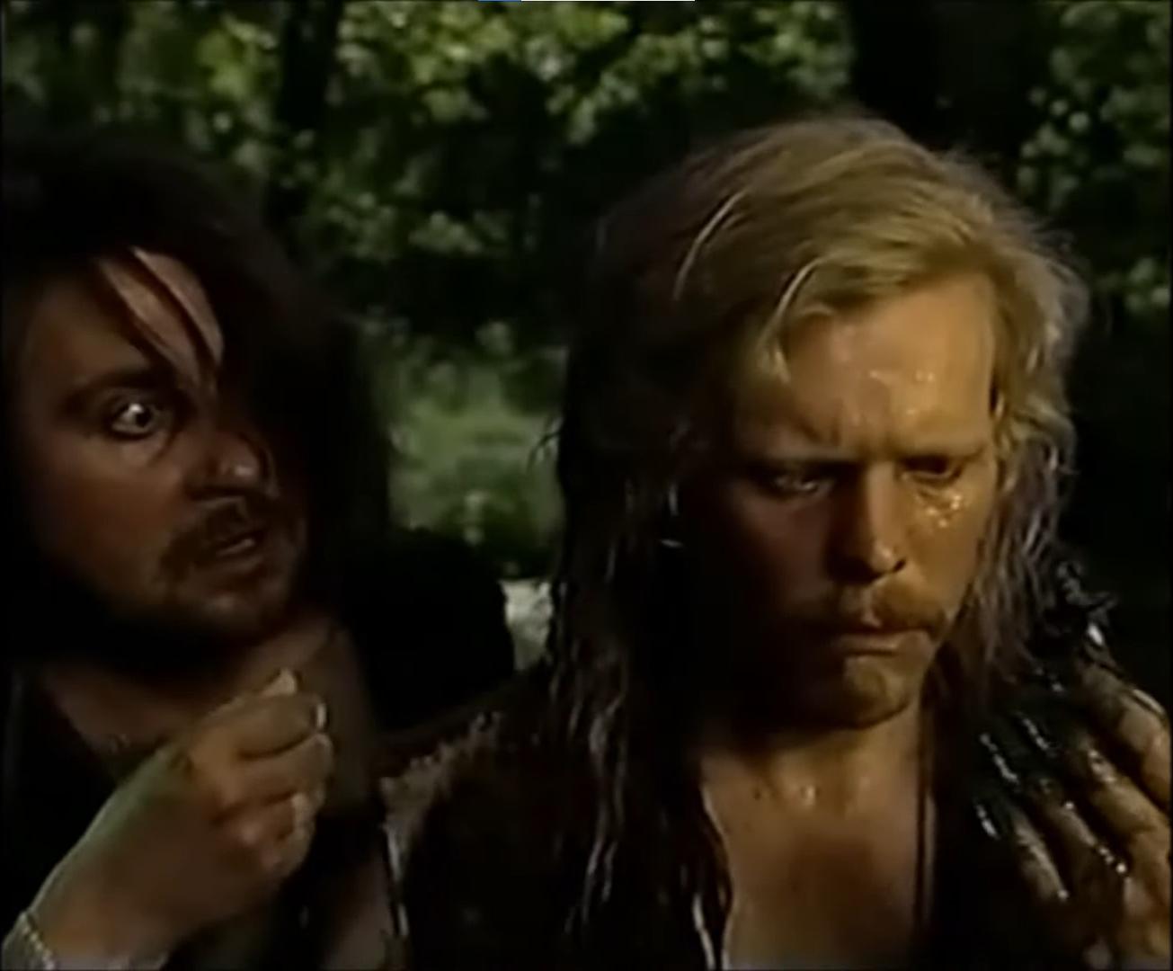 Screenshot från Hobitit (1993).