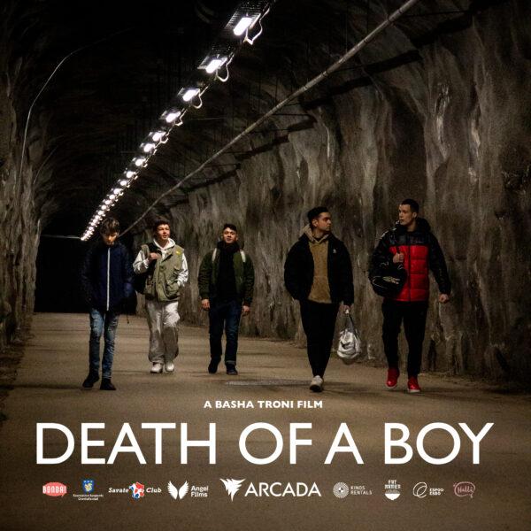 Poster med engelsk text för Ner i Djupet, eng. Death of a Boy. Bild: Kenneth Mattila.